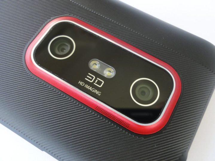 Камера HTC Evo 3D