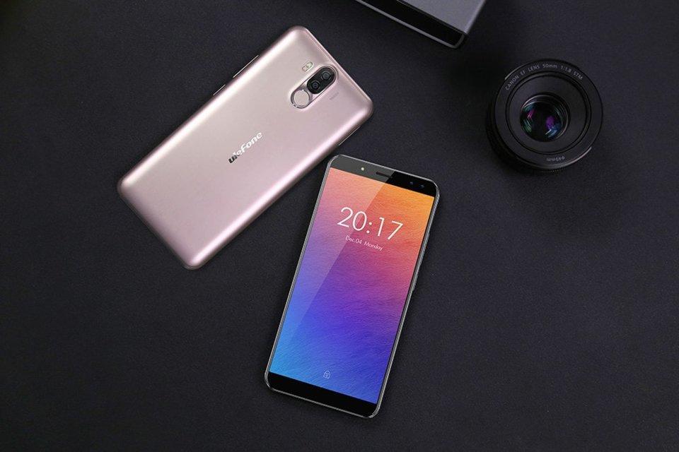 Новый полноэкранный смартфон Ulefone Power 3S
