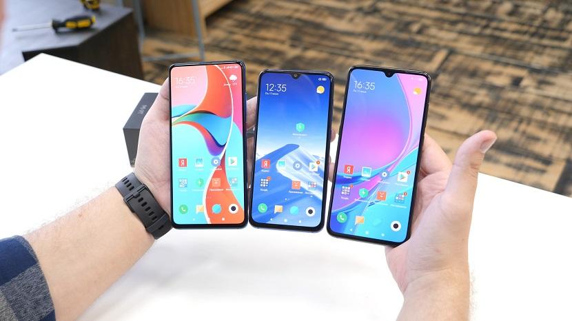 Сравнение Xiaomi Mi 9T с другими смартфонами