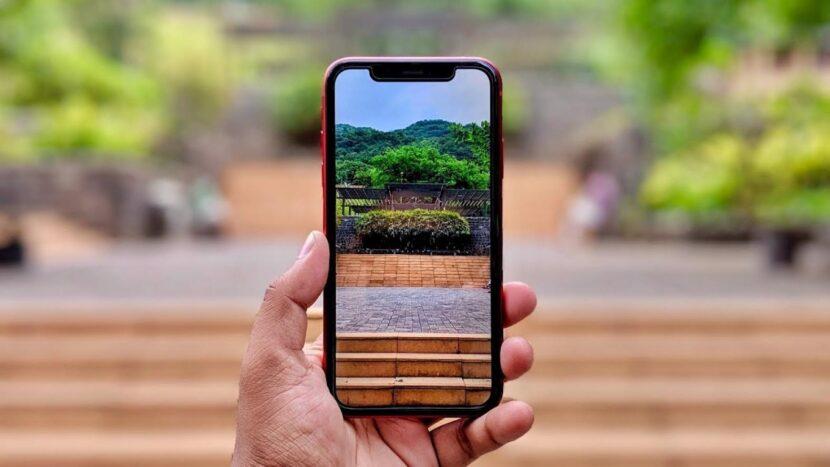 функция контроля глубины камера iPhone xs