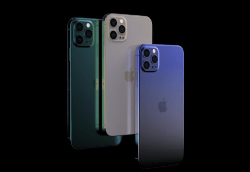iPhone 12 Pro разные цвета