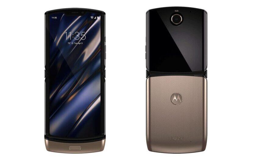 телефон Motorola Razr2 новая модель