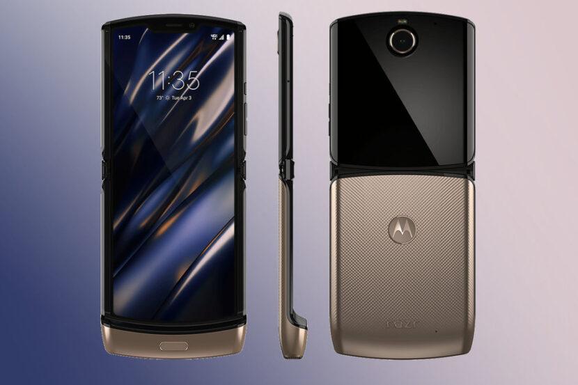новая модель Motorola Razr2 sub-6GHz 5G