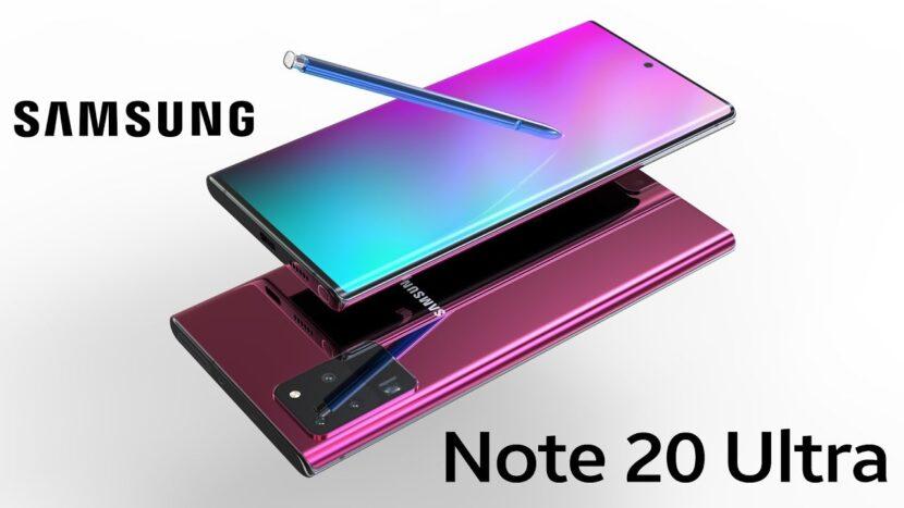 Galaxy Note 20 Ultra дисплеи