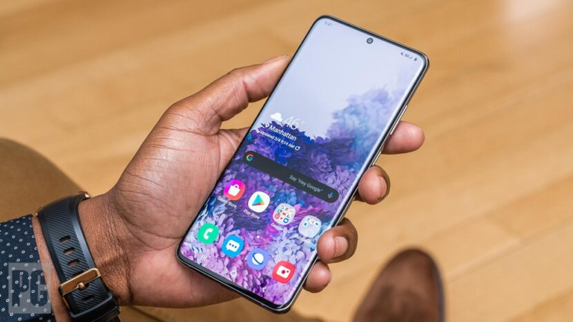 Galaxy Note 20 Ultra дисплей 2020