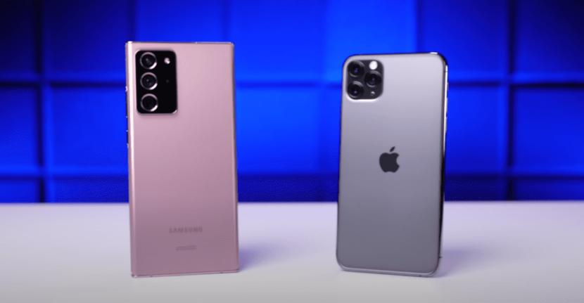 iPhone 12 Pro против Galaxy Note 20 сравнительная характеристика