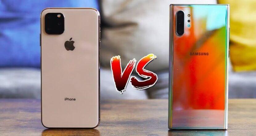 iPhone 12 Pro против Galaxy Note 20 фото