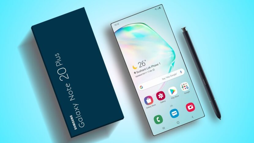 galaxy note 20 outlook 2020 дисплей