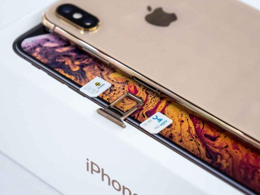 Модели iPhone XS и iPhone XS Max