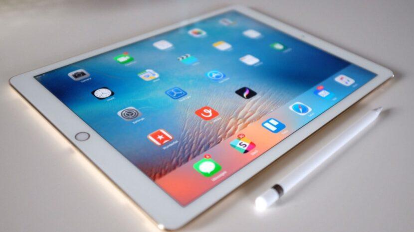 белый iPad Pro с карандашом