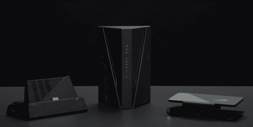 Упаковка смартфона ASUS ROG Phone 3
