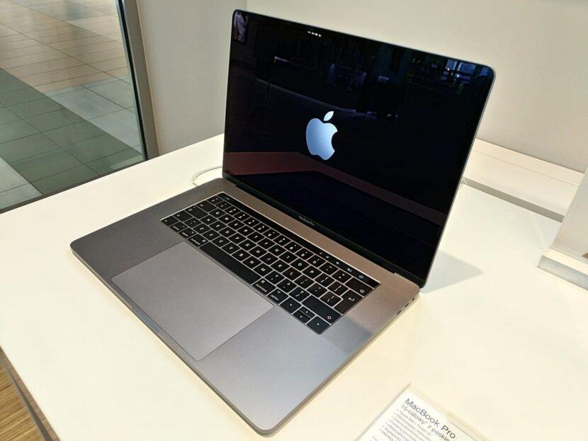 Процесс включения MacBook Pro 2020