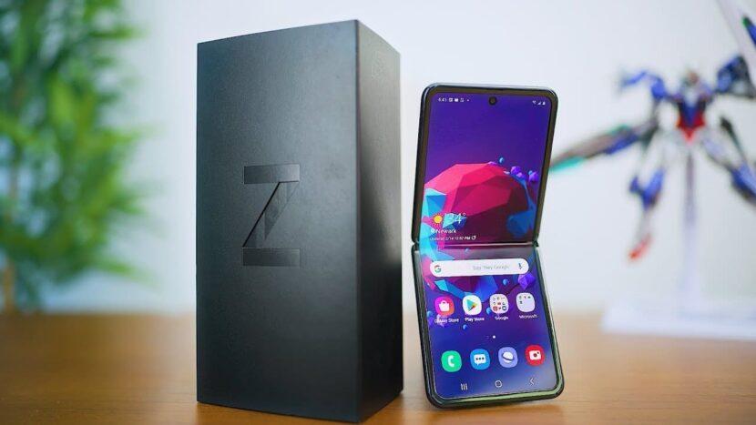 Samsung с коробкой