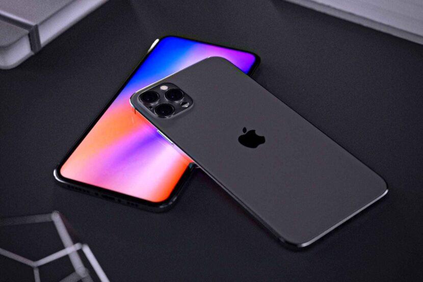 iPhone черный