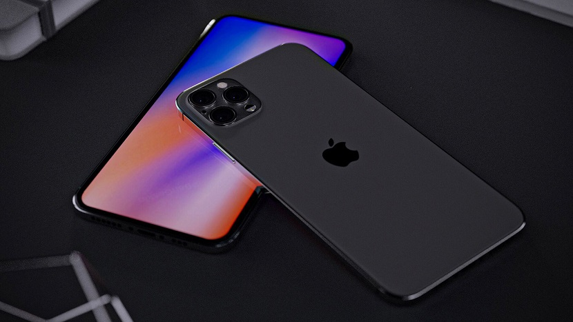 Черный Iphone 12