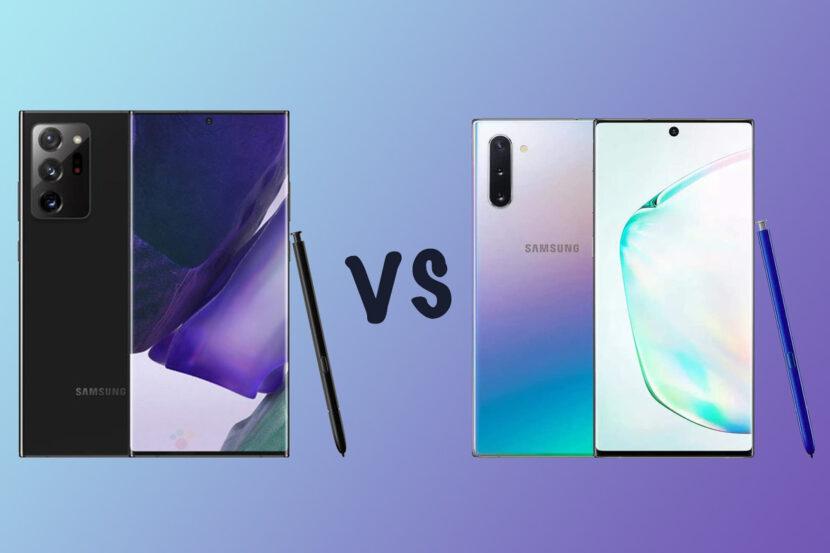 Galaxy Note 10 vs Galaxy Note 20