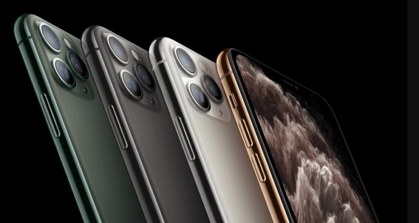 iPhone 11 Pro разных цветов