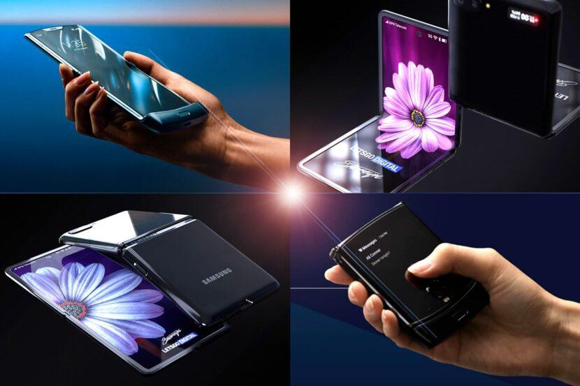 4 изображения смартфонов Samsung