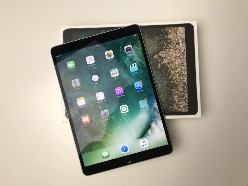 iPad Pro с коробкой