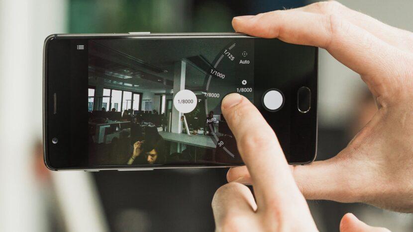 стандартный интерфейс камеры