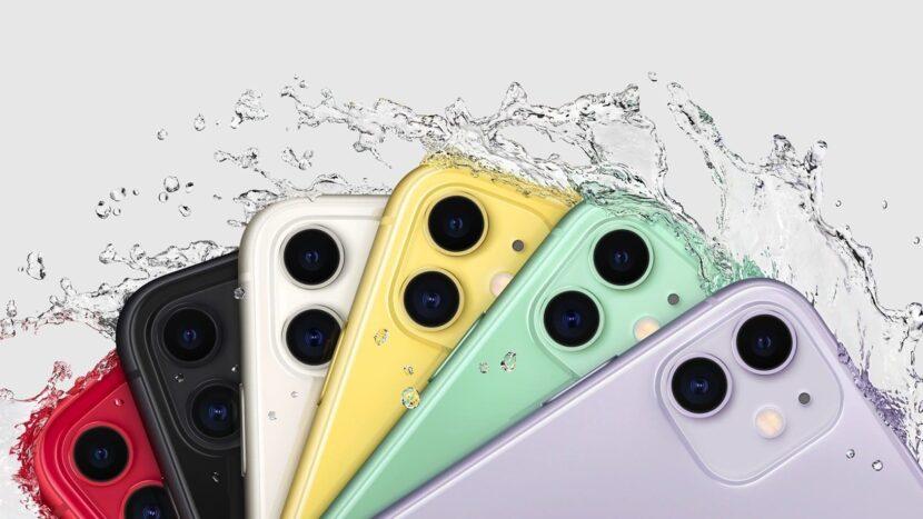 айфон 11 разных цветов 6 смартфонов