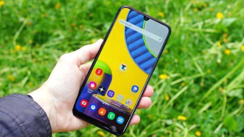 Samsung Galaxy M31s дисплей
