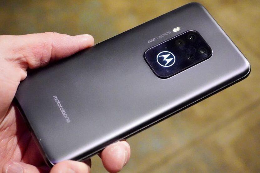 серый телефон