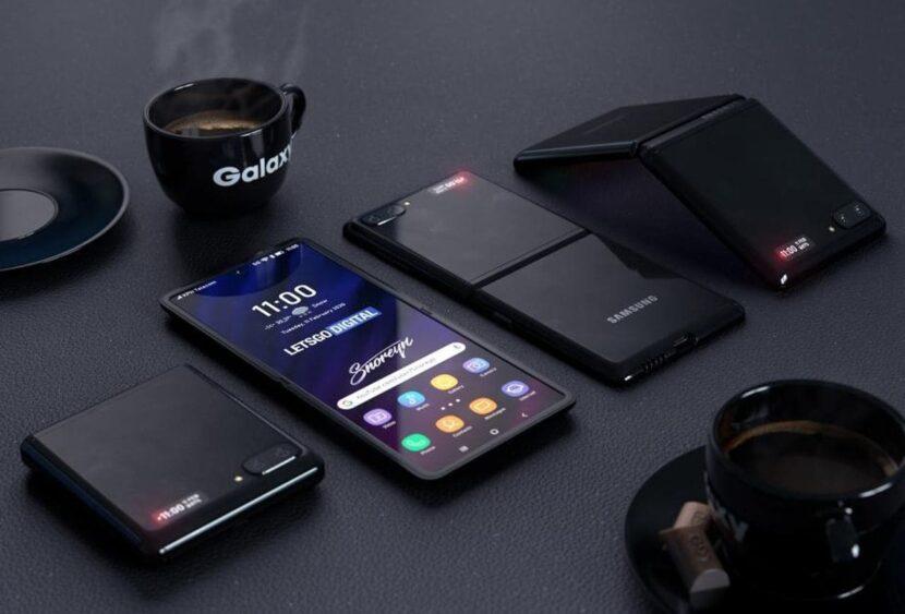четыре смартфона и кофе
