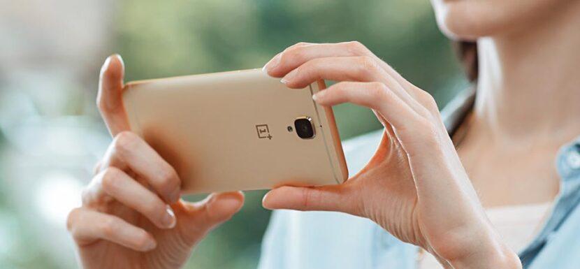 OnePlus золотой