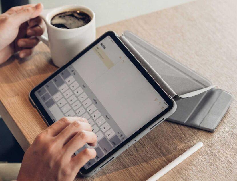 iPad Pro текстовый документ