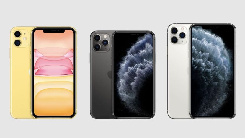 айфоны разноймарки и трех цветов
