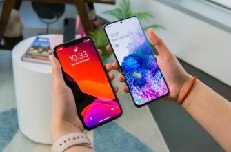 Samsung Galaxy S20 Ultra и iPhone 11 Pro Max