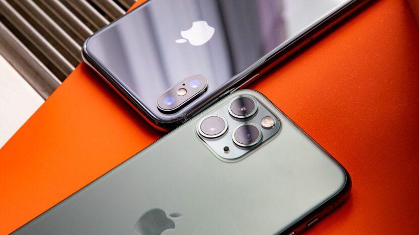 сравнение двух смартфонов