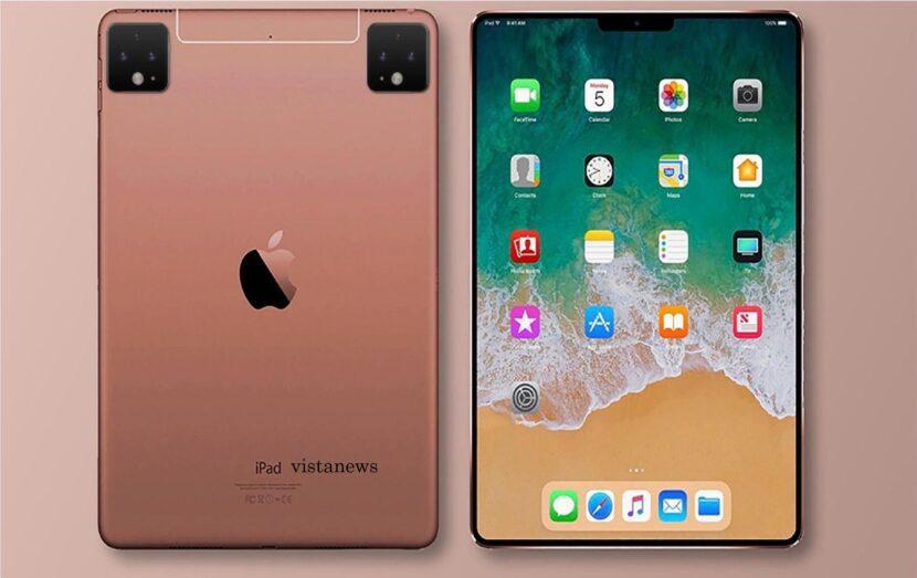 два розовых IPad Pro
