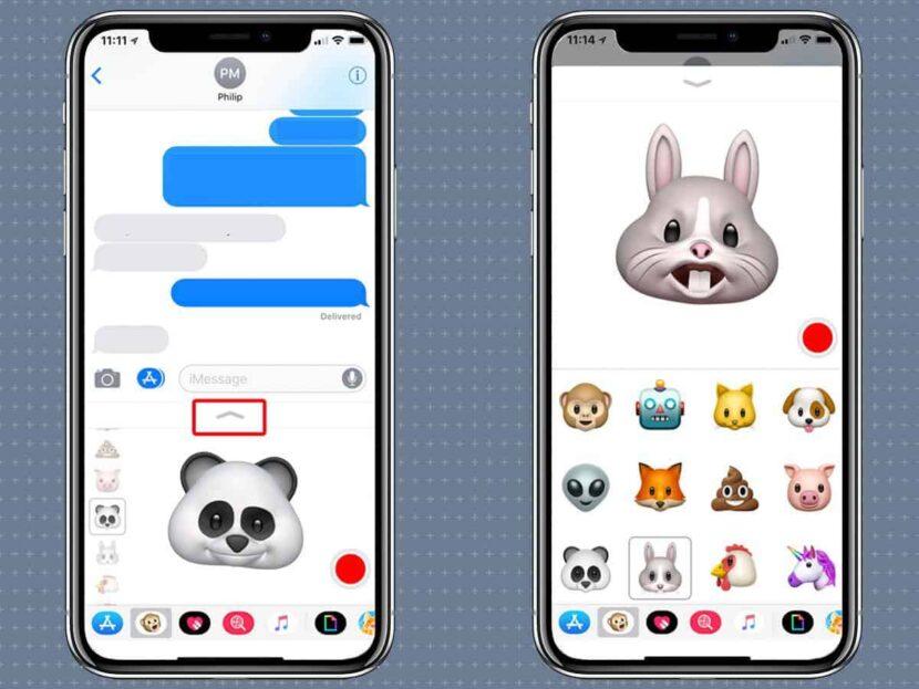Animoji iPhoneXS