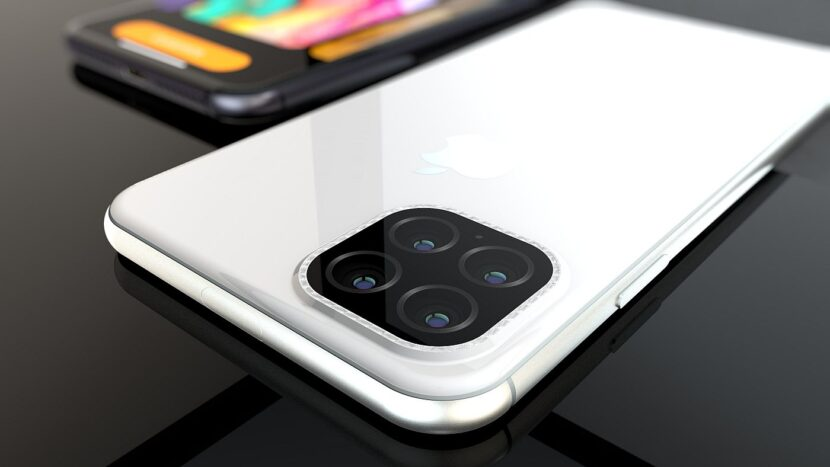 Белый Iphone 12
