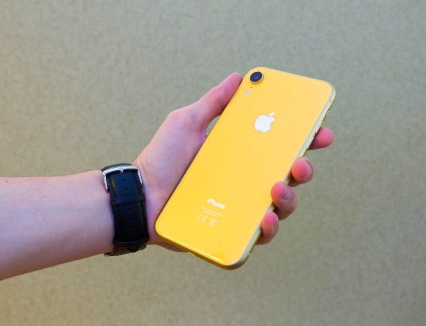Жёлтый iPhone XR