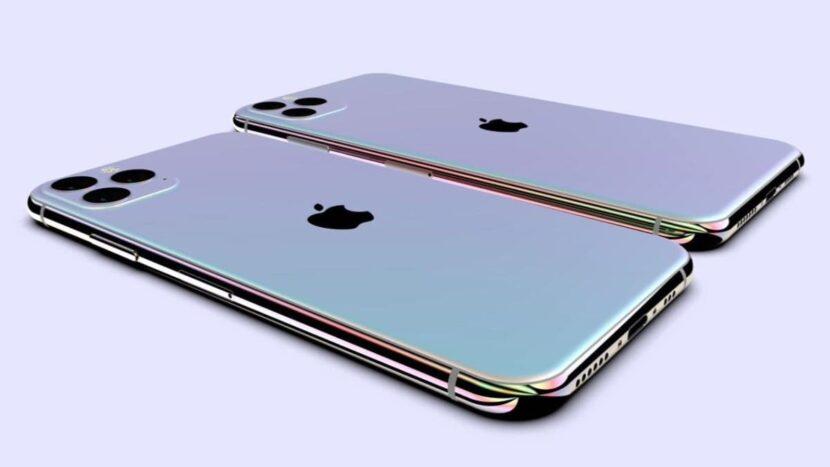 iphone-11два смартфона