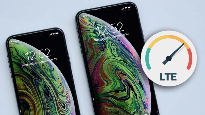 LTE на iPhone XS -XSMax