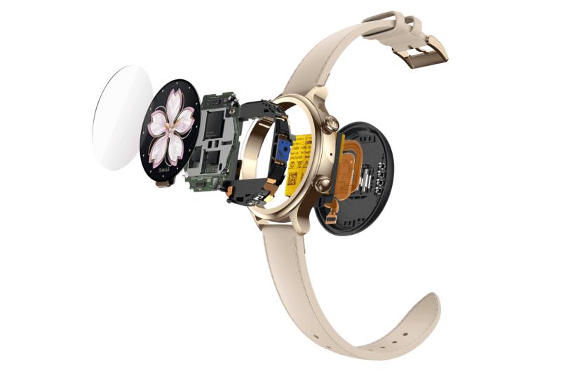 Умные часы Mobvoi TicWatch C2+ изнутри