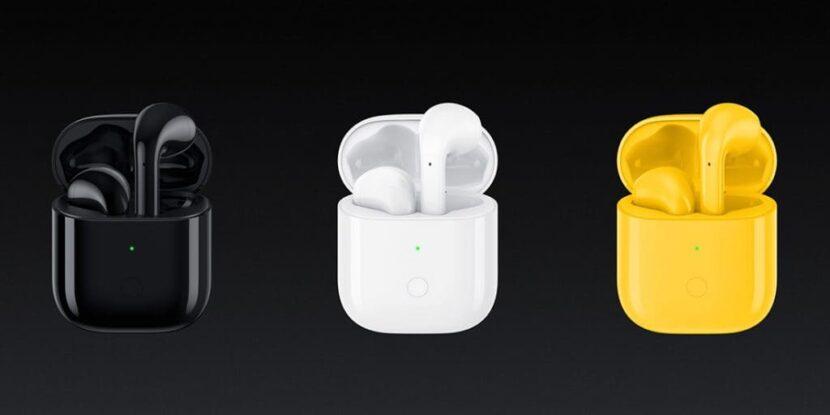 Наушники Realme Buds Air в трех цветах