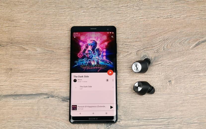 Аудио Sony Xperia XZ3