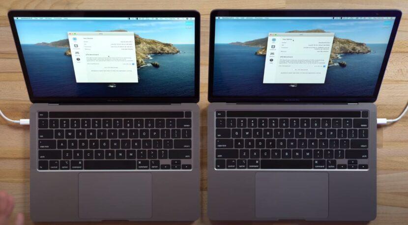 Сравнение разных комплектаций MacBook Pro 2020