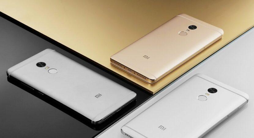 Xiaomi серый и золотой