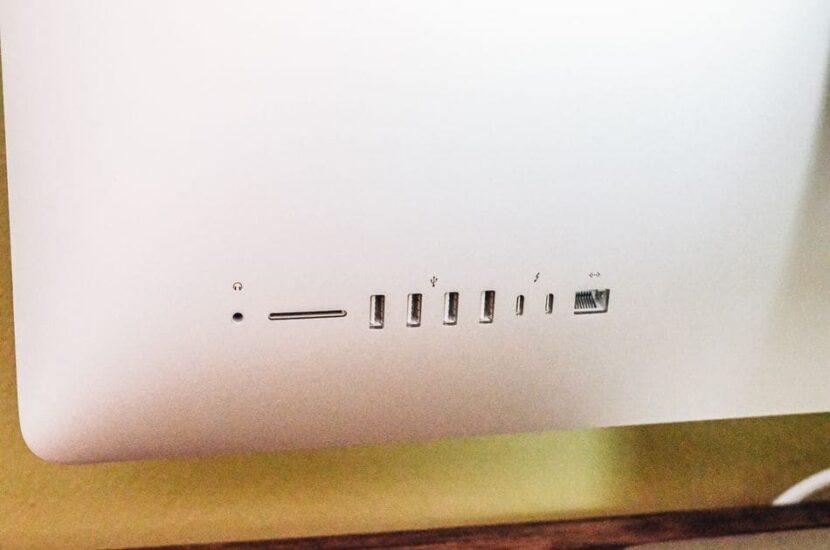iMac 27-inch (2020) порты