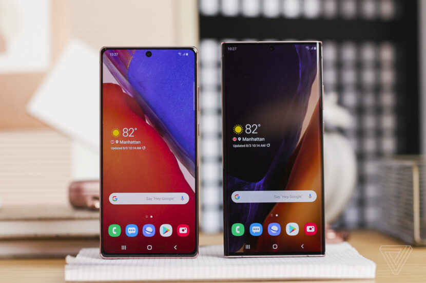 Galaxy Note 20 и Galaxy Note 20 ultra