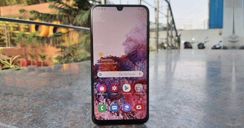 Samsung Galaxy M31s экран