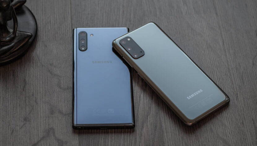 note 10 и note 20