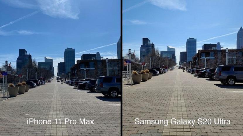 Фото с Samsung Galaxy S20 Plus и Iphone 11 Pro Max