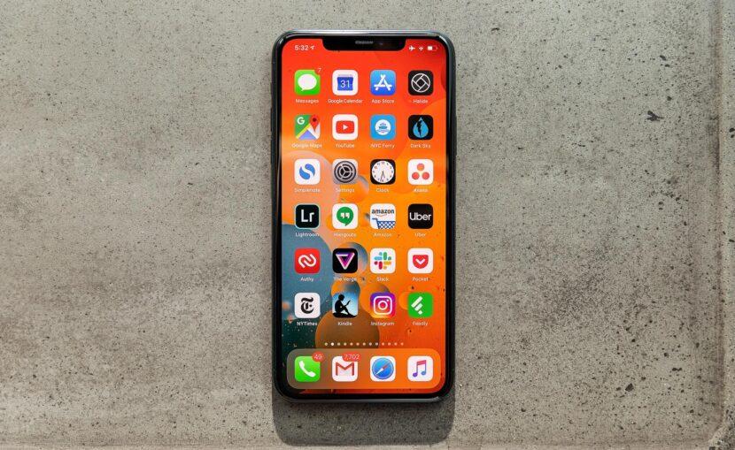 iPhone 11 Pro вид экрана